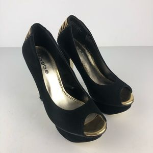 Bebe Women's  Platform Stilettos Pumps Size 7